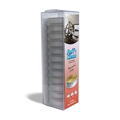Pufai Puff Clean - Toallitas de limpieza para salpicadero de coche, 12 cápsulas