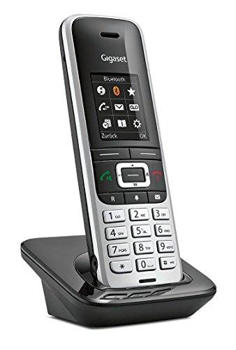 Gigaset S850H Telefon / Schnurlostelefon / Universal Mobilteil - mit Farbdisplay - Dect-Telefon / schnurloses Telefon - Freisprechen / Router - Platin-Schwarz