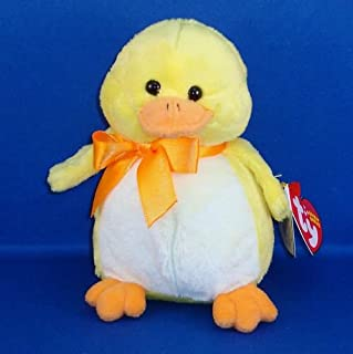 Ty Beanie Babies - Puddles - Yellow Duck
