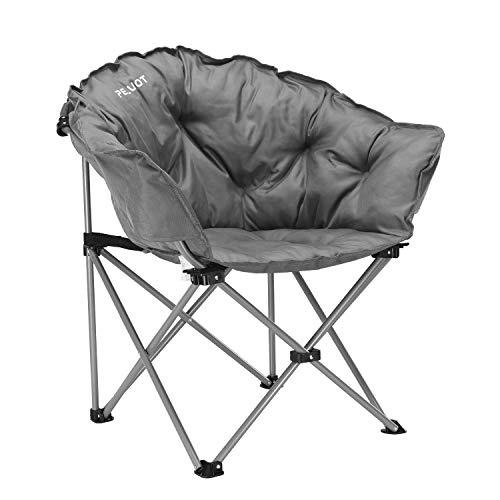 PELLIOT Moon Chair Faltstuhl Tragbarer Klappstuhl Bequemer Campingstuhl Ladegewicht 150kg