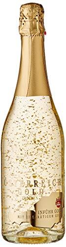 Österreich Gold 23 Carat Leaf Sparkling Wine – 750 ml