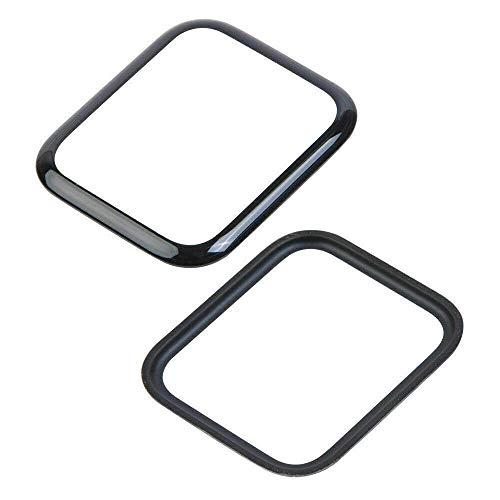 Displayglas Frontglas Ersatzglas für Apple Watch Serie 4 Reparatur Schwarz 44mm