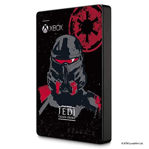 Seagate Game Drive para Xbox STEA2000426 Unidad de Disco Duro Externa de 2 TB, HDD portátil, diseñada para Xbox One (Edición Especial Jedi)