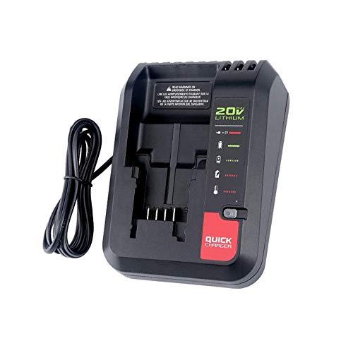 Nrpfell Actualización Reemplazo Porter-Cable Pcc692L, También para All Black & 20V MAX Batería de Litio o Cargador Enchufe de la UE