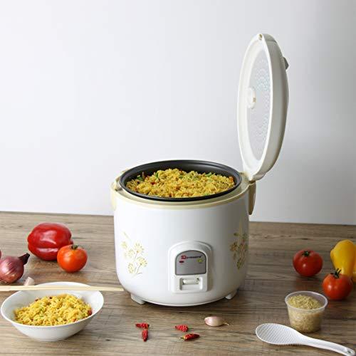 Deluxe elektrischer Reiskocher und Dampfgarer - 1.8L