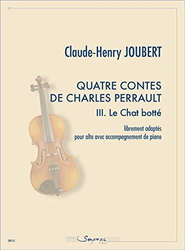 Quatre contes de Charels Perrault 3. Le Chat fles - BOEK+DEEL