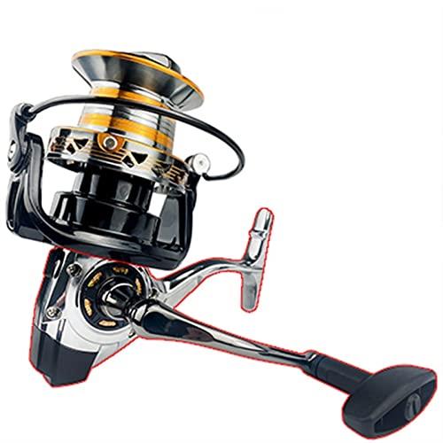 KSHOLK Carretes de Pesca,Carrete Spinning Reel de Pesca 12000 10000 9000 Metail Line Cup 3 0kg Bobina de Reel de Hilado de Agua Salada Carrete de caña de Pescar