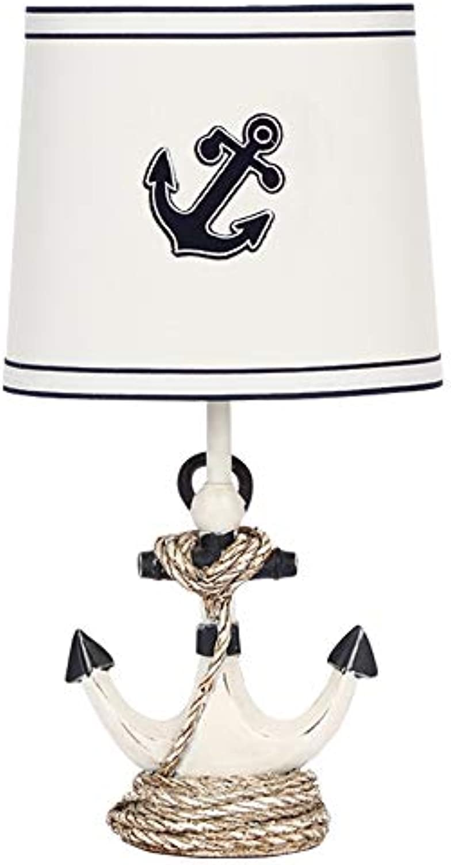 Nachttischlampe für Kinder - Persnlichkeit Creative Boy Study Schlafzimmer Tischlampe Minimalistisches Lesen Mittelmeer Nachtlicht , Augenschutz Tischlampe