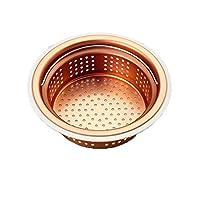 日用品 台所用品 関連商品 流し用銅製浅型ゴミカゴ 135/145両用タイプ SP-219
