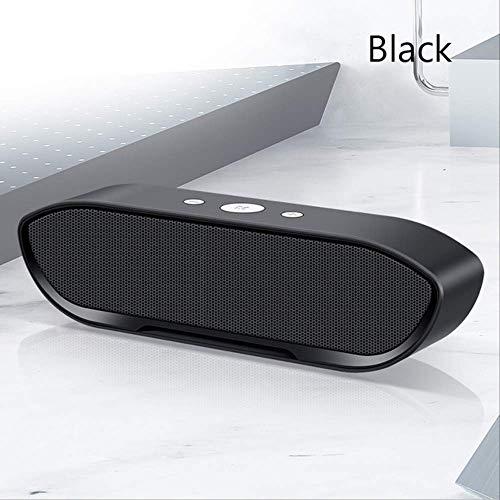 Mirage Draagbare Draadloze Bluetooth Speaker Stereo Big Power Mp3 Muziek Mic Subwoofer Speakers Voor Iphone Computer Bass Speaker Roze, Zwart