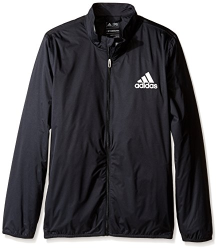 adidas Golf Boy's Provisional Rain Jacket (Big Kids), Black, X-Large
