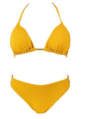 Womens Bikini Set Twee Stukken Badpak Glitter Driehoek Zwemkleding XXS-L Italiaans Ontworpen Zwemkostuum