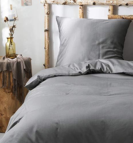 Juego de Ropa de Cama, Funda nórdica Suave y Funda de Almohada de 100% algodón, sábana de...