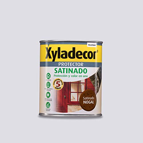 Xyladecor Protector para madera Satinado Nogal 750 ml