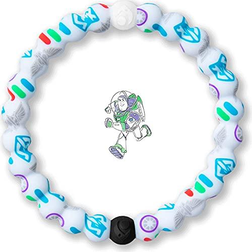 Lokai Disney Collection Pixar Toy Story Buzz Lightyear Silicone Beaded Bracelet, Medium, 6.5