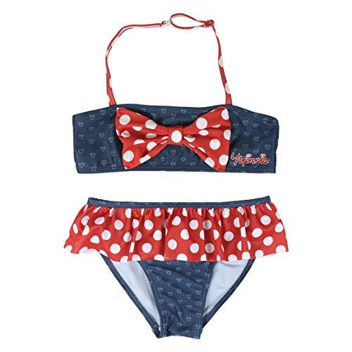 Cerdá Bikini Minnie Set, Blu (Azul C03), 8 Anni (Taglia Produttore: 8) Bambina