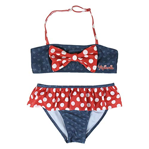 Cerdá Bikini Minnie, Azul (Azul C03), 10 para Niñas