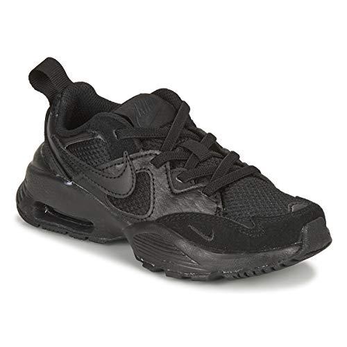 Nike 3825 001 - Zapatillas deportivas para niño, color negro de sintético/piel Negro Size: 35 EU
