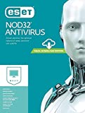 Eset NOD32 Antivirus Latest Version - 1 PC, 1 Year (Email Delivery in 2 Hours - No CD)