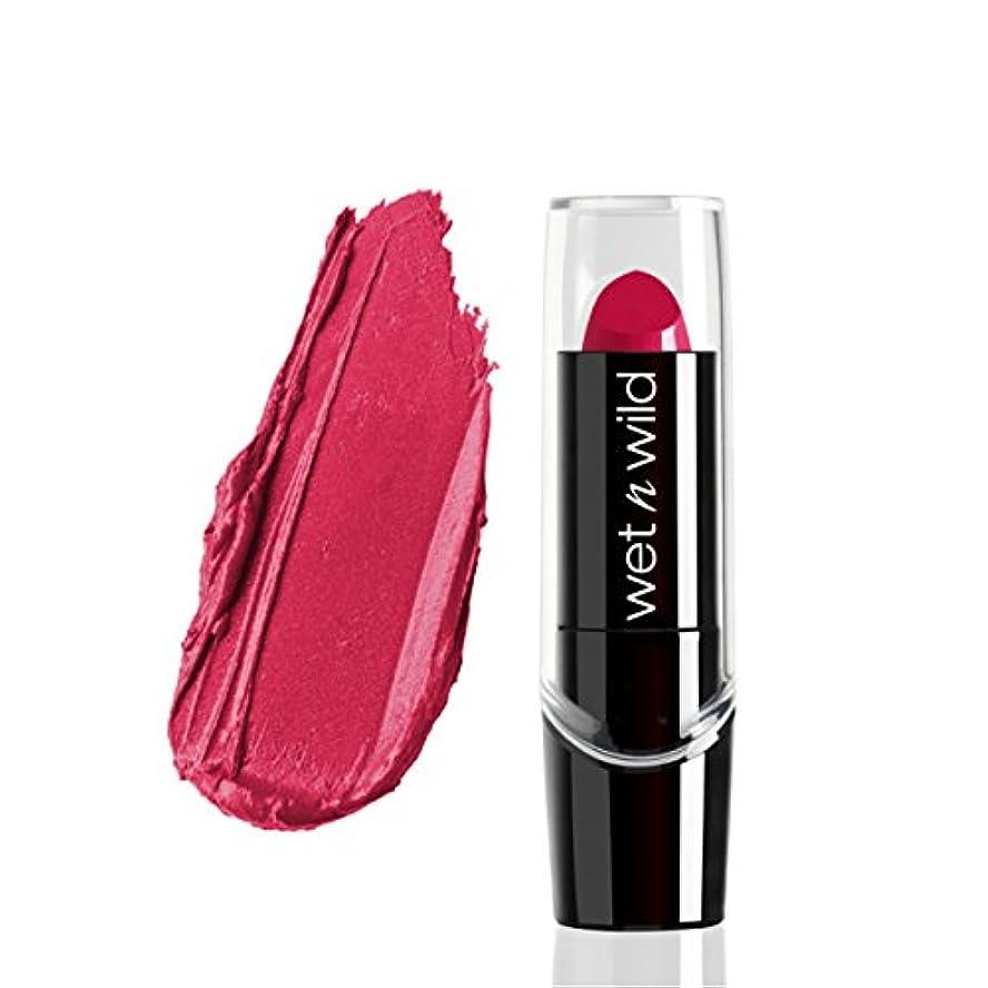 ミットステップアジテーション(6 Pack) WET N WILD Silk Finish Lipstick - In The Near Fuchsia (並行輸入品)