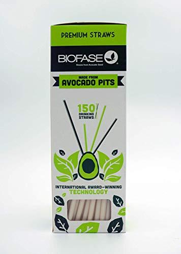 Biofase 150ct - Avocado Seed Straws