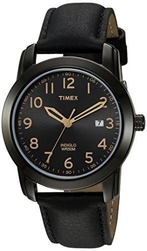 Reloj Timex para hombre, modelo Highland Street, Bronceado/Negro