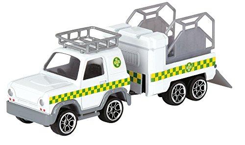 Dickie Toys 203099630 - Feuerwehrmann Sam, Die-Cast Metall Fahrzeug Set, 4-teilig, verschiedene Ausführungen