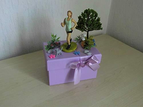Joggen Geldgeschenk für die sportliche Frau Joggerin auf Dekobox