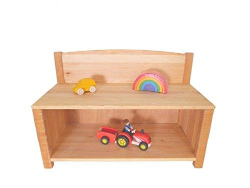 Kinder-Schuhschrank 8053 Massivholz-Garderobe für Kindergarten oder Kinderzimmer