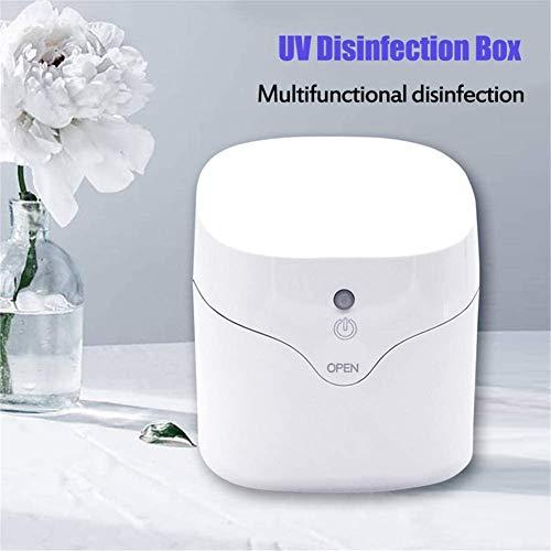 USB Mini UV licht Sterilisator Sterilisatie Doos, Draagbaar 59 seconden Ultraviolet licht Machine desinfecteren voor mobiele telefoon, Masker, Doodt 99,9% van Schimmel bacteriën kiemen