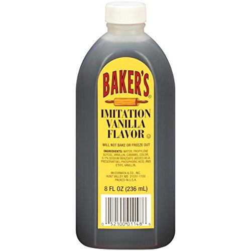 Baker's Imitation Vanilla Flavor, 8 fl oz