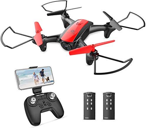 Holy Stone HS370 FPV Mini Drohne mit Kamera 720P HD für Kinder,RC Quadrocopter mit Live Video, automatische Höhenhaltung,One Key Start,2 Modular Akkus Langer Flugzeit, Ideal für Kinder und Anfänger