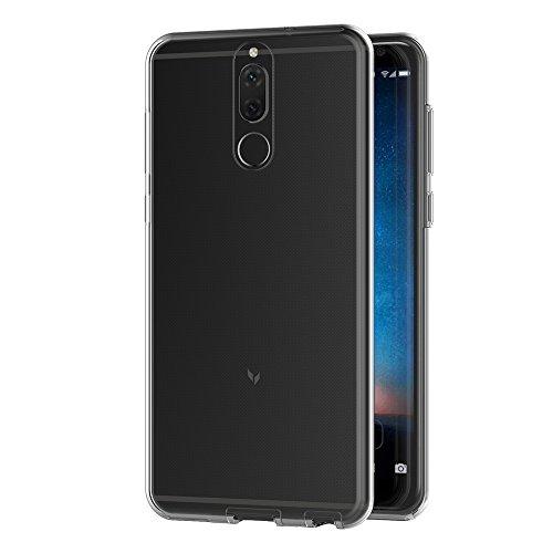 AICEK Huawei Mate 10 Lite Hülle, 360°Full Body Transparent Silikon Schutzhülle für Huawei Mate 10 Lite Case Crystal Clear Durchsichtige TPU Bumper Huawei Mate 10 Lite Handyhülle (5,9 Zoll) - 2
