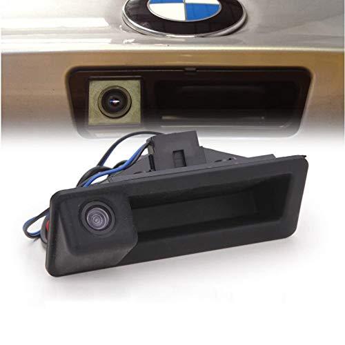 Telecamera per Retrovisione con Maniglia per Bagagliaio da 170 gradi, Telecamera Posteriore per Auto Telecamera per Parcheggio HD per BMW E60 E61 E70 E71 E72 E82 E88 E84 E90 E91 E92 E93 X1 X5