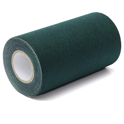 TYLife Artificial Grass Seam Tape,Self-Adhesive Synthetic Seaming Turf Tape for Lawn,Carpet Jointing,Mat Rug,Connecting Fake Grass,6' x32.8'(15cm x 10m)