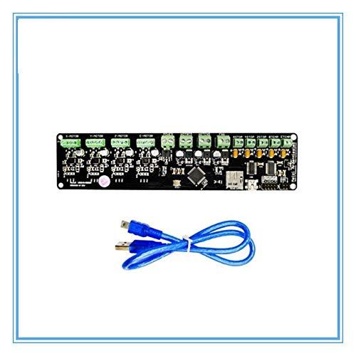 WNJ-TOOL, 1set 3D Printer Control Board DIY Kit for PartReprap Melzi 2.0 1284P 3D-Drucker PCB Board IC ATmega1284P Zubehör for Prusa I3