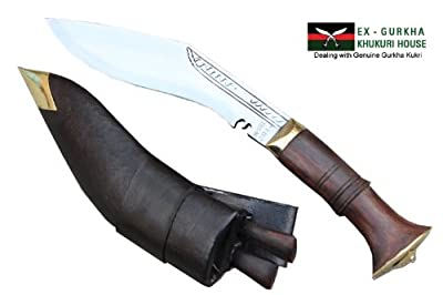 "6"" Blade Super Mini Jungle Kukri - Authentic Gurkha Khukuri - Handmade Knife By Ex Gurkha Khukuri House in Nepal from Ex Gurkha Khukuri House"