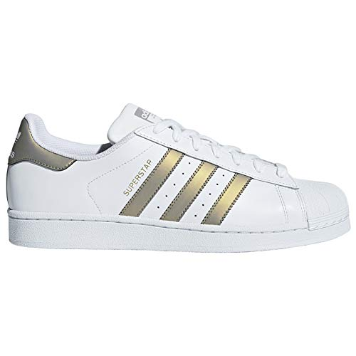 adidas Originals Superstar Sneaker D98001 White/Grey Four Gr. 39 1/3 (UK 6)