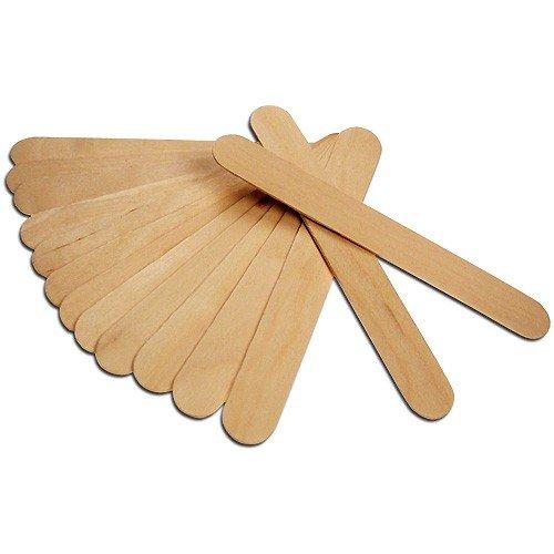 Holzspatel - Rührspatel Holz, 150x19mm, 24 Stück