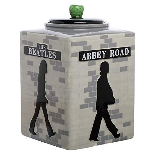 The Abbey Road Sculpted Ceramic Cookie Jar