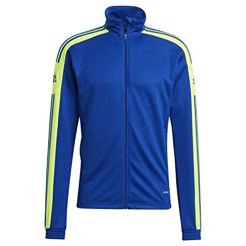 adidas Sq21 Tr Jkt Giacca da uomo, Uomo, giacca, GP6466, Multicolore (Azurea/Tmsoye), 4XL