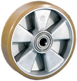 Polyuréthane de roue dissous roue Ø 200x50 mm Ø arbre 20 mm Capacité 850 kg