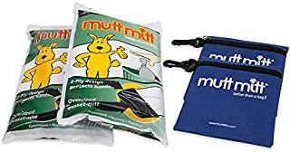 Mutt Mitt Dog Waste Pick Up Bag, 200 Count with 2 Free Carry Pouches
