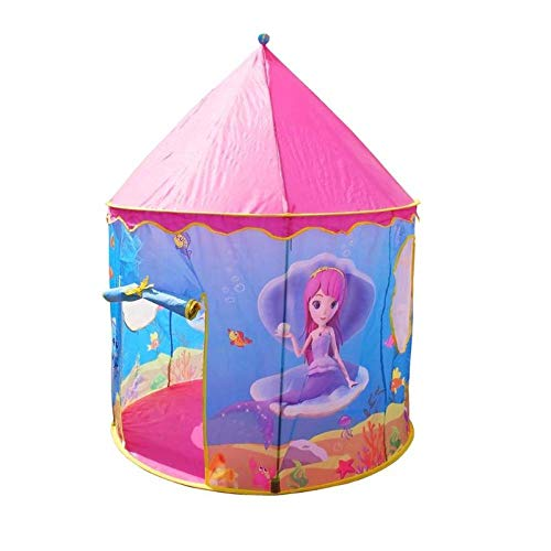 CYONGYOU Portable foldable children's play tent outdoor indoor dollhouse