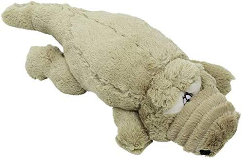 siyat Plüschspielzeug Krokodilpuppen Sonstige Puppe ausgestopfte Plüschkissen Kissen Geburtstagsgeschenke (hellgrün) 60 cm Jikasifa