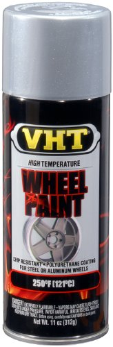 VHT ESP186007 Chevy Rally Silver Wheel Paint Can - 11 oz.