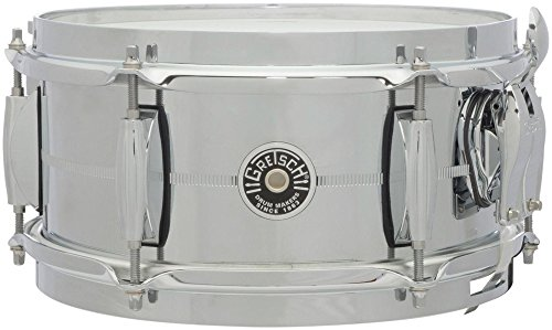 """Gretsch Drums USA Brooklyn 10"""" x 5"""", Chrome over Steel Snare · Snare drum"""