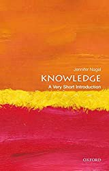 Knowledge: A Very Short Introduction Book Cover