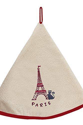 Torchons & Bouchons Essuie-Mains Tour Eiffel Ficelle 60 cm