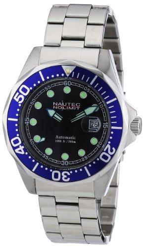 Nautec No Limit DSB AT/STSTBLBK - Orologio da uomo